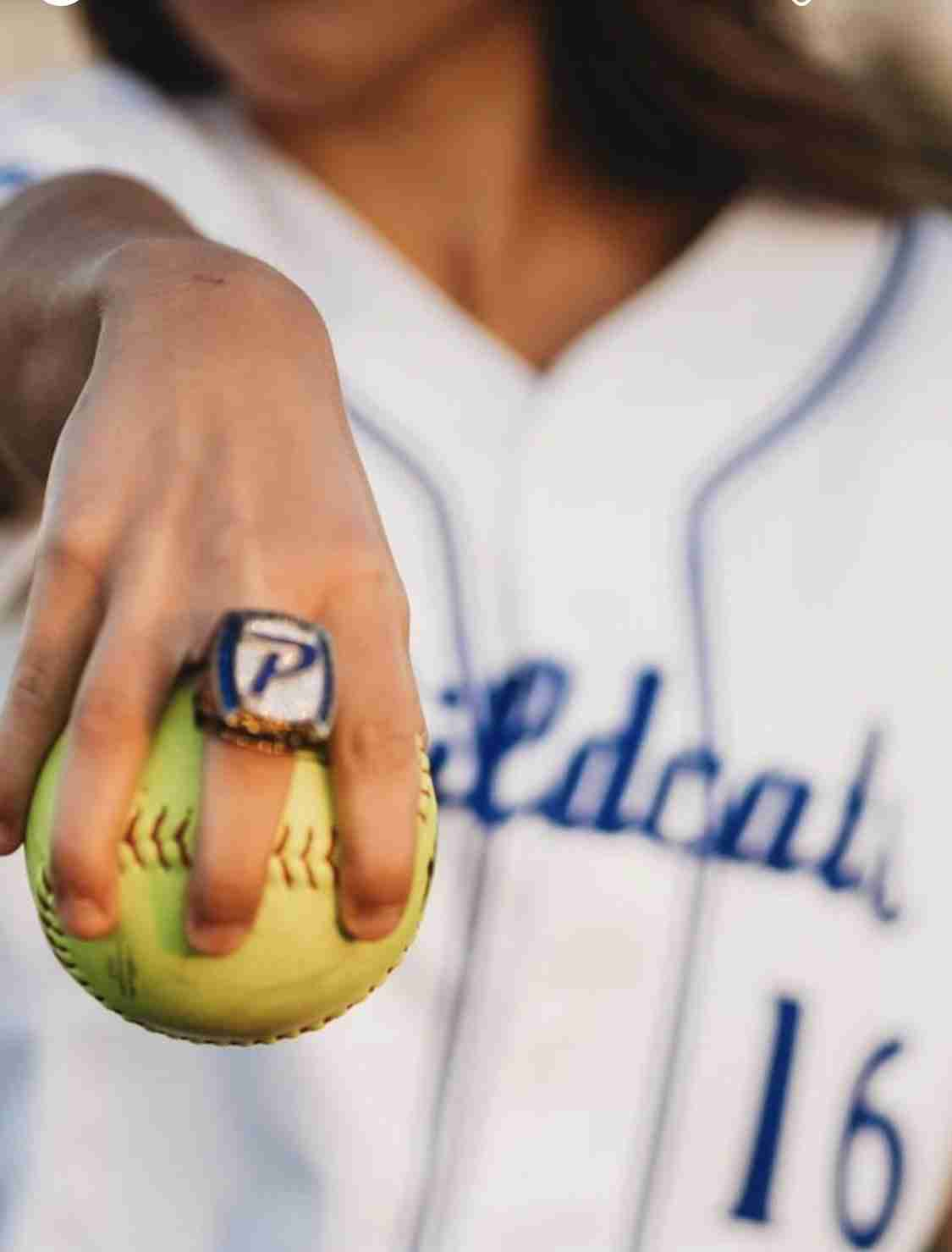 Piedmont Wildcat Softball Ring